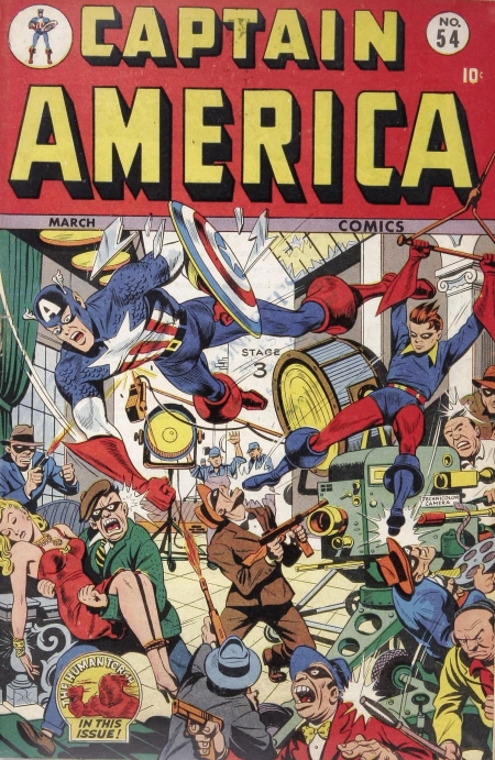 Captain America Comics 54 Cover Image