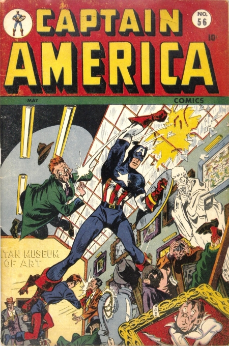 Captain America Comics 56 Cover Image