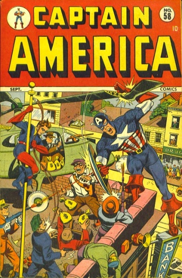 Captain America Comics 58 Cover Image