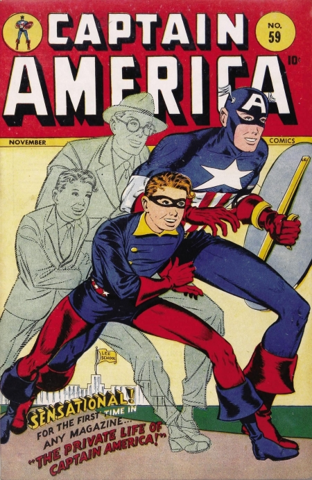 Captain America Comics 59 Cover Image