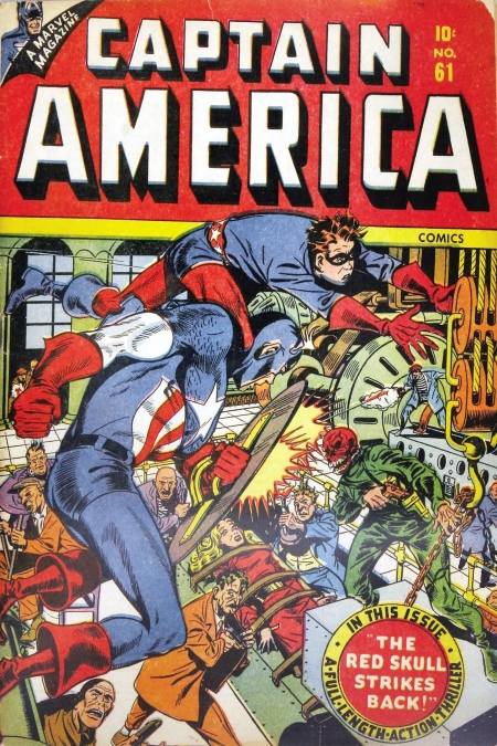 Captain America Comics 61 Cover Image