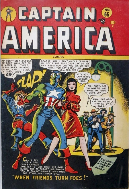 Captain America Comics 65 Cover Image