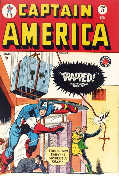 Captain America Comics 71 Cover Image