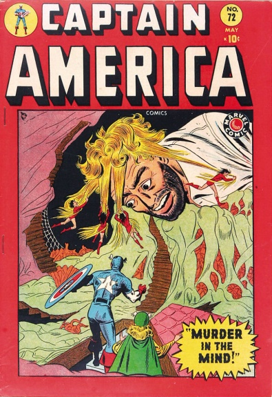 Captain America Comics 72 Cover Image