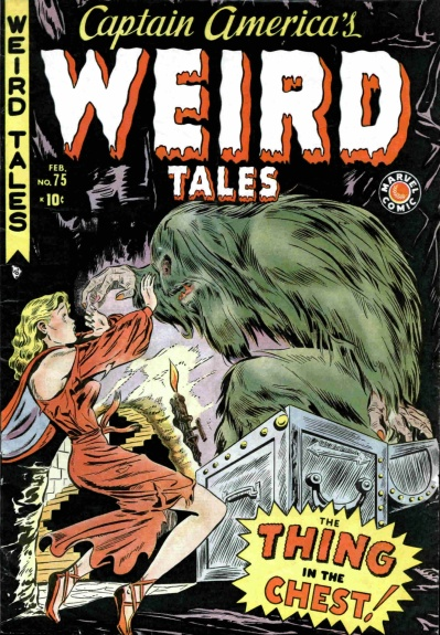 Captain America's Weird Tales 75 Cover Image