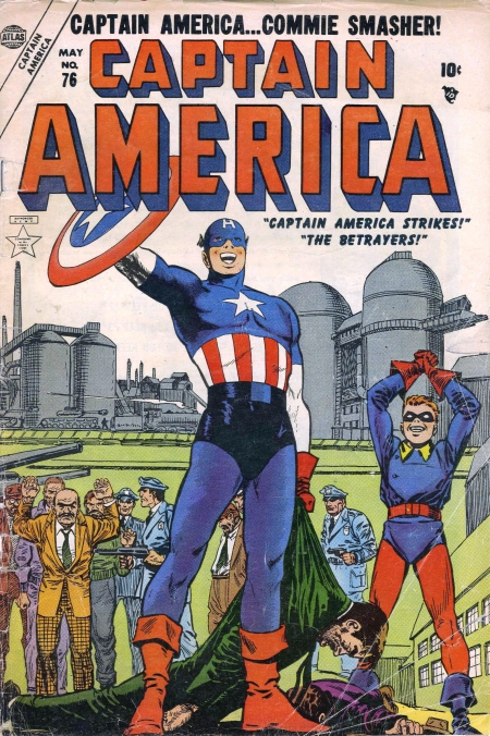 Captain America  76 Cover Image