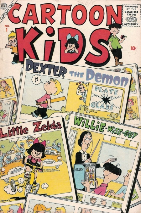Cartoon Kids 1 Cover Image