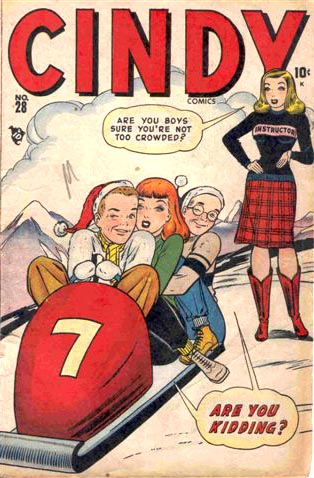 Cindy Comics 28 Cover Image