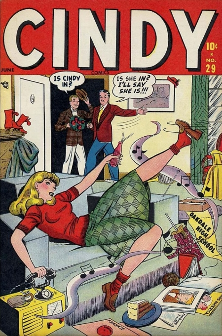 Cindy Comics 29 Cover Image