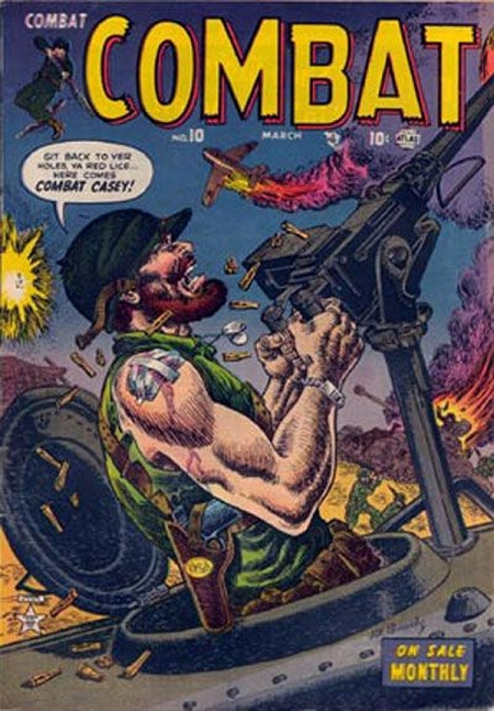 Combat 10 Cover Image