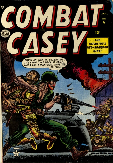 Combat Casey 6 Cover Image