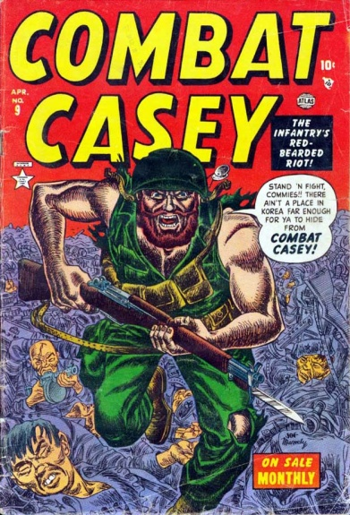 Combat Casey 9 Cover Image