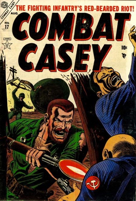 Combat Casey 17 Cover Image