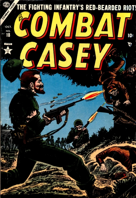 Combat Casey 18 Cover Image