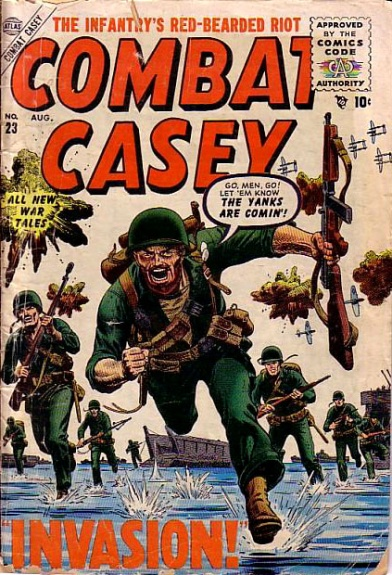 Combat Casey 23 Cover Image