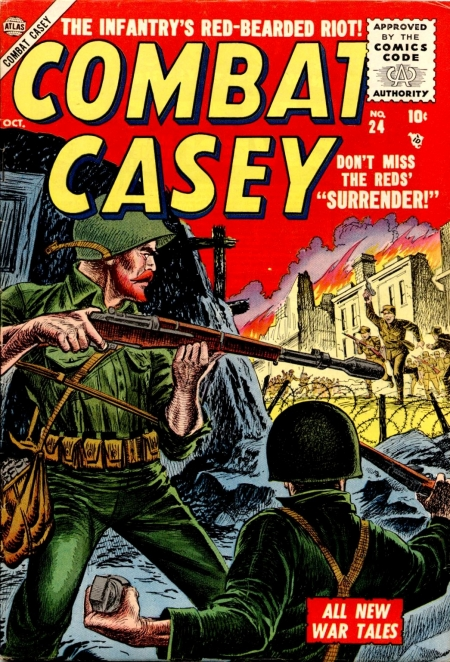 Combat Casey 24 Cover Image