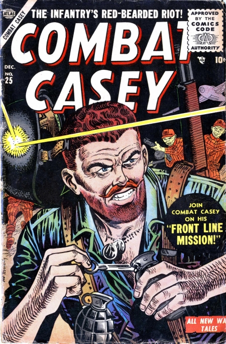 Combat Casey 25 Cover Image