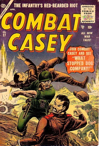 Combat Casey 27 Cover Image