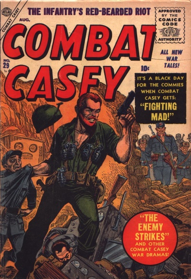Combat Casey 29 Cover Image