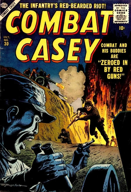 Combat Casey 30 Cover Image