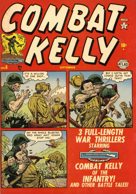 Combat Kelly 6 Cover Image