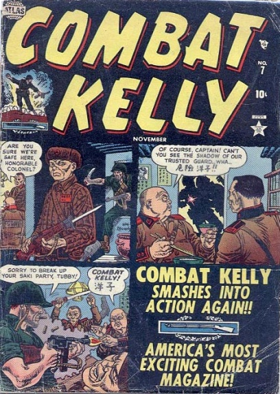 Combat Kelly 7 Cover Image
