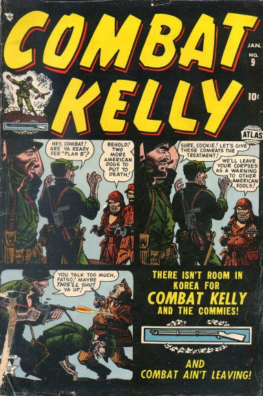 Combat Kelly 9 Cover Image