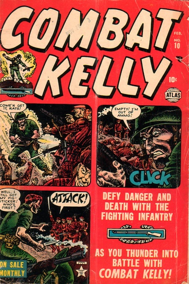 Combat Kelly 10 Cover Image