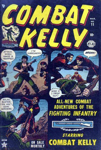 Combat Kelly 11 Cover Image