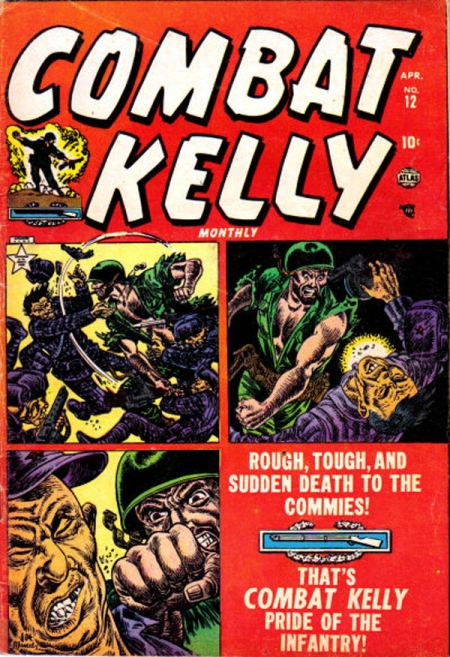 Combat Kelly 12 Cover Image
