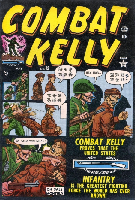 Combat Kelly 13 Cover Image