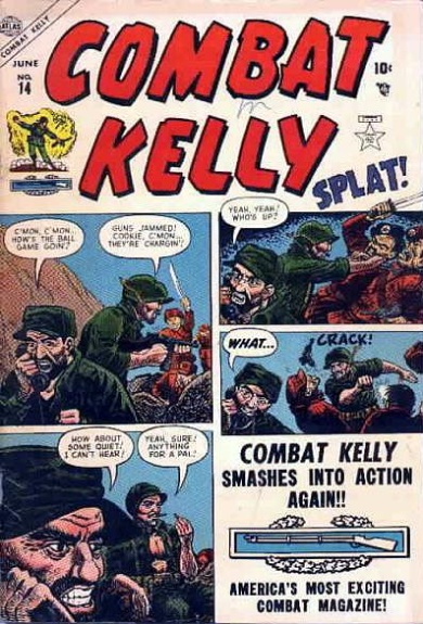 Combat Kelly 14 Cover Image