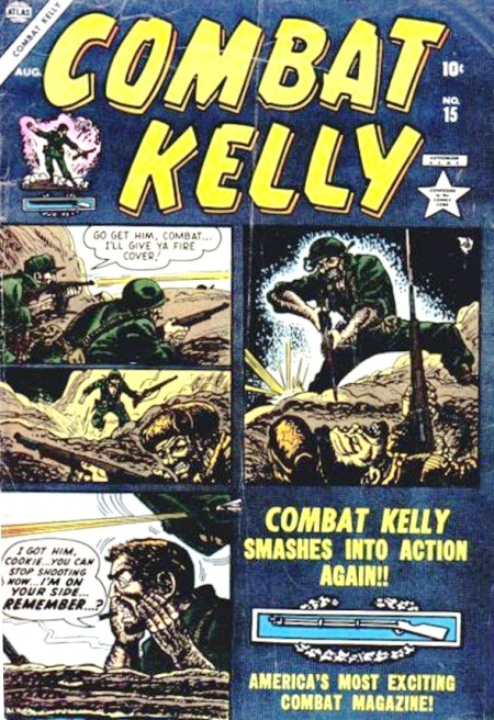 Combat Kelly 15 Cover Image