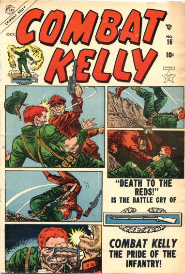 Combat Kelly 16 Cover Image