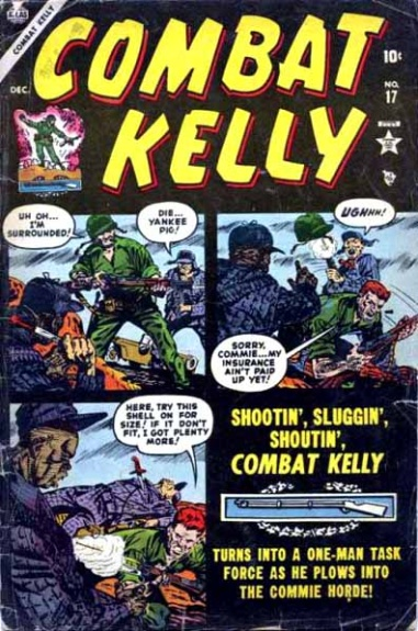 Combat Kelly 17 Cover Image