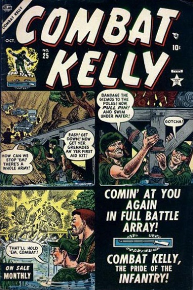 Combat Kelly 25 Cover Image