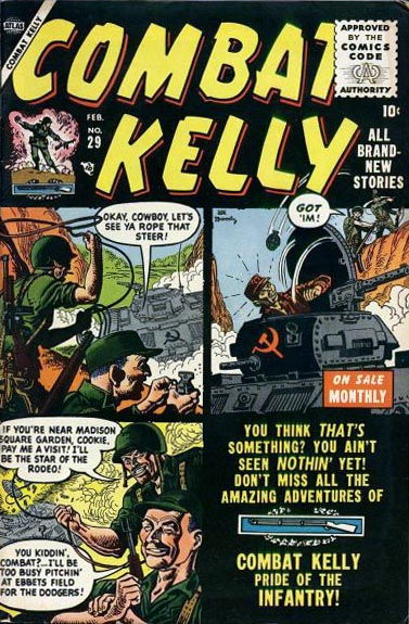 Combat Kelly 29 Cover Image