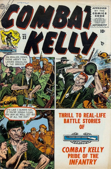 Combat Kelly 33 Cover Image