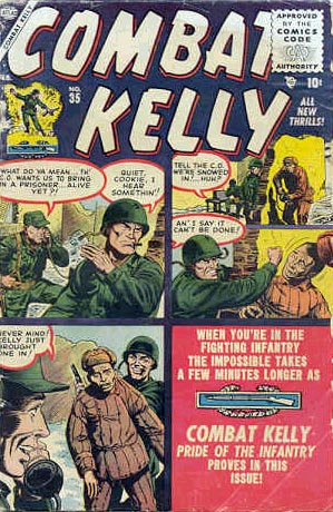 Combat Kelly 35 Cover Image