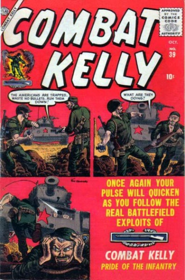 Combat Kelly 39 Cover Image