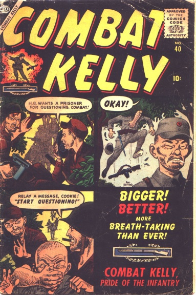 Combat Kelly 40 Cover Image