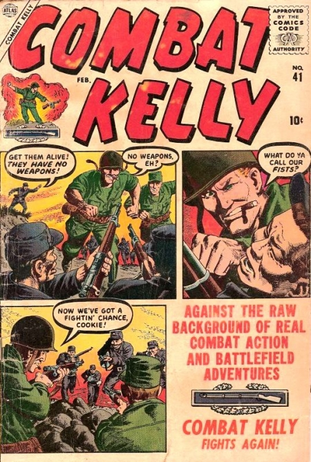 Combat Kelly 41 Cover Image