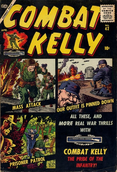 Combat Kelly 42 Cover Image