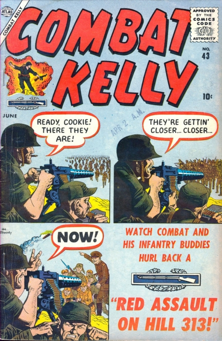 Combat Kelly 43 Cover Image