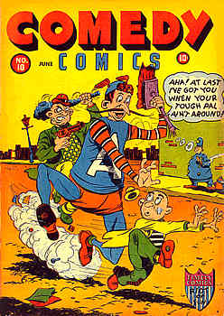 Comedy Comics 10 Cover Image