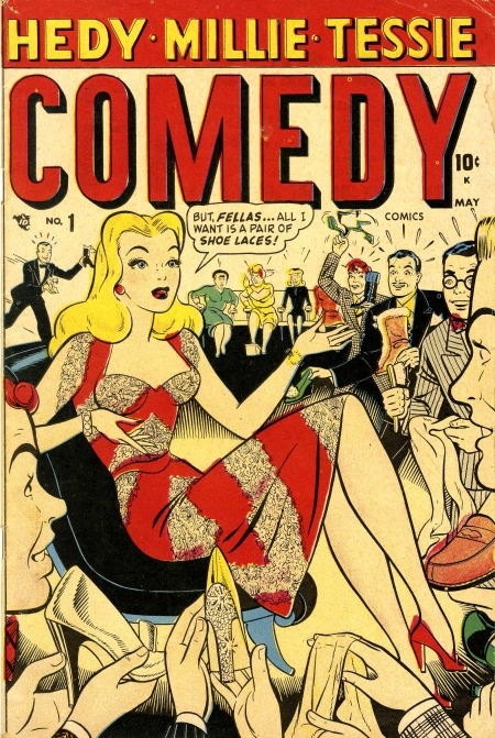 Comedy Comics  1 Cover Image