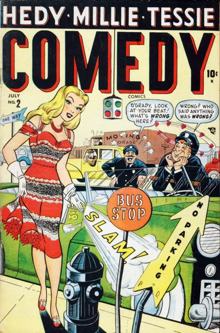 Comedy Comics  2 Cover Image