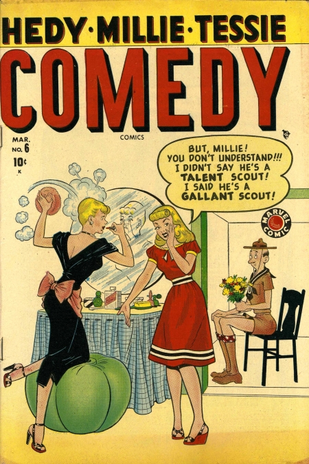 Comedy Comics  6 Cover Image