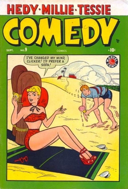 Comedy Comics  9 Cover Image