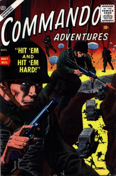 Commando Adventures 2 Cover Image